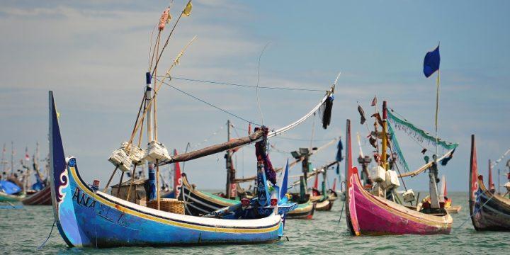 Fishing Boats in Jimbaran, Bali